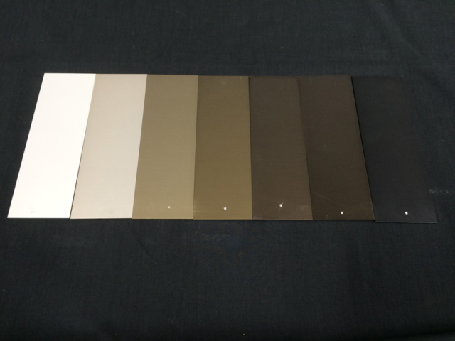 Exterior Anodising Samples