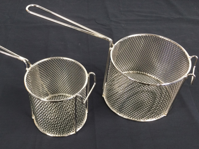 Nickel Plated Fry Baskets - metal-protection Christchurch