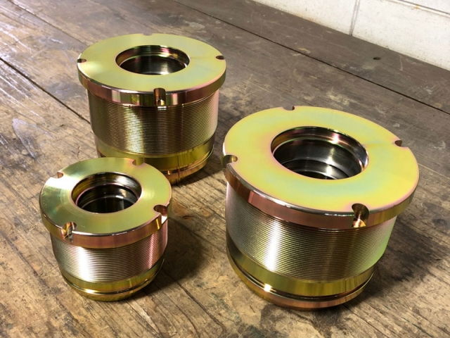 Gold Zinc Plated Machined Parts