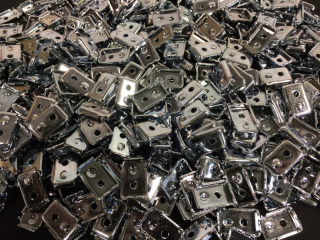 metal brackets - zinc electroplating Christchurch